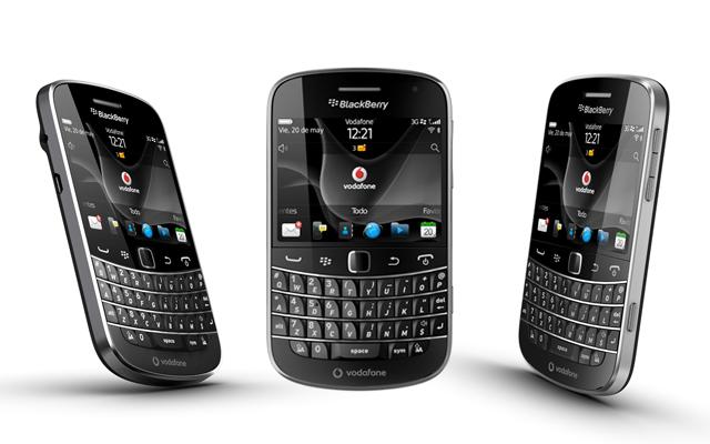 BlackBerry Boold 9900 con Vodafone
