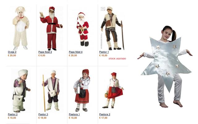 Disfraza a tus peques de navidad - Disfraces infantiles navidad ...