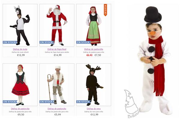 Disfraza a tus peques de navidad - Disfraces para navidad ninos ...