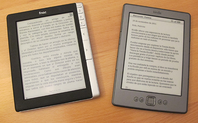 Fnac ereader Kindle castellano