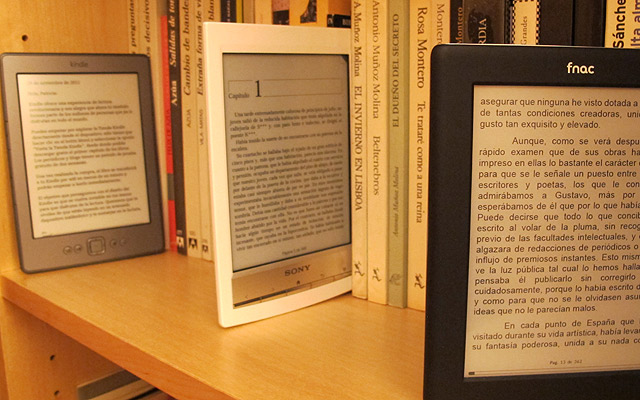 ereader Kindle Fnac Sony