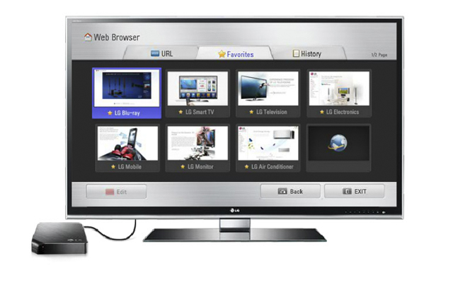 how to connect lg smart tv to internet