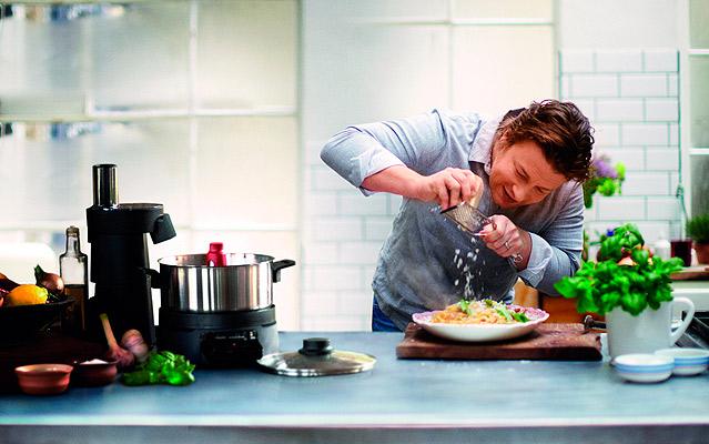 jamie oliver y su robot de cocina