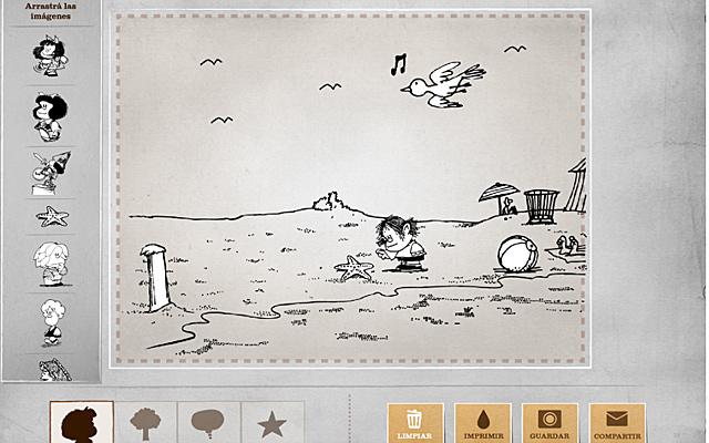 Mafalda crea