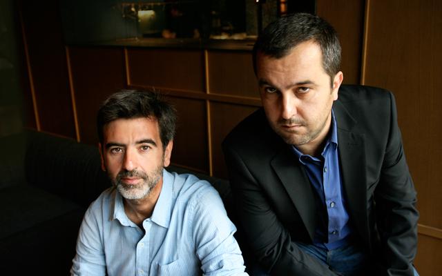 Álvaro Colomer y Antonio Lozano, autores de Terror en la red. Foto de Marta Calvo