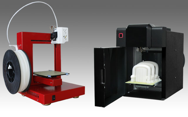 Llegan las impresoras 3d dom sticas for Impresora 3d laser