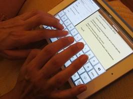 iPad notas tablet