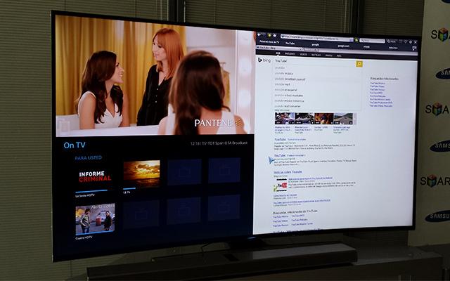 Se ve mejor un televisor curvo - Distancia televisor 55 pulgadas ...