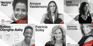 TEDxBarcelonaWomen ponentes