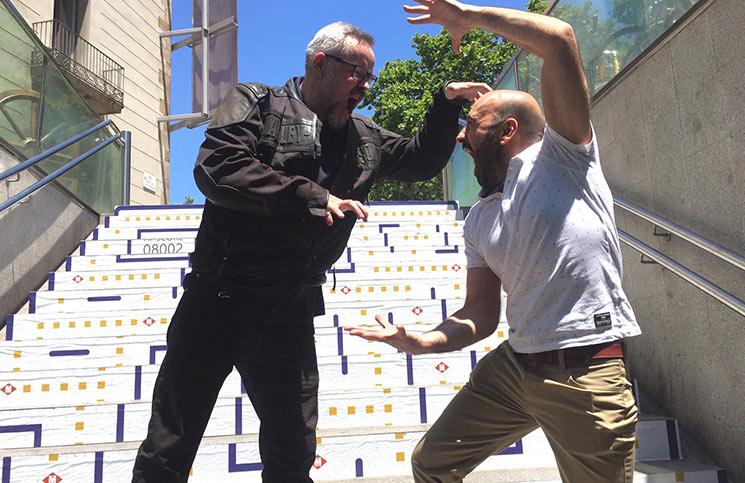 Gonzo Suárez e Ivan Lobo en Gamelab 2015