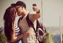 Selfie enamorados. Foto de Iker Morán @photolari